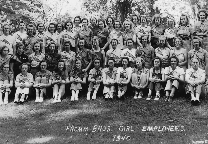 Fromm History - Female Employees